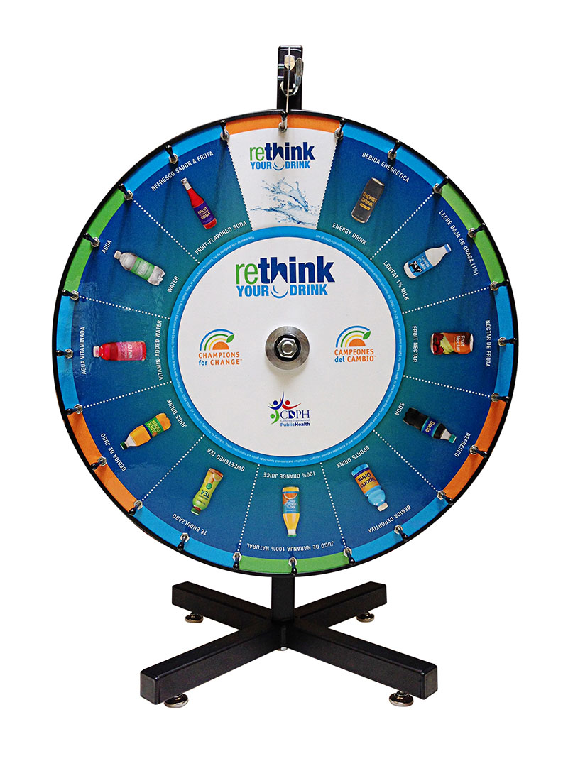 ReThink Your Drink NEOP Prizewheel