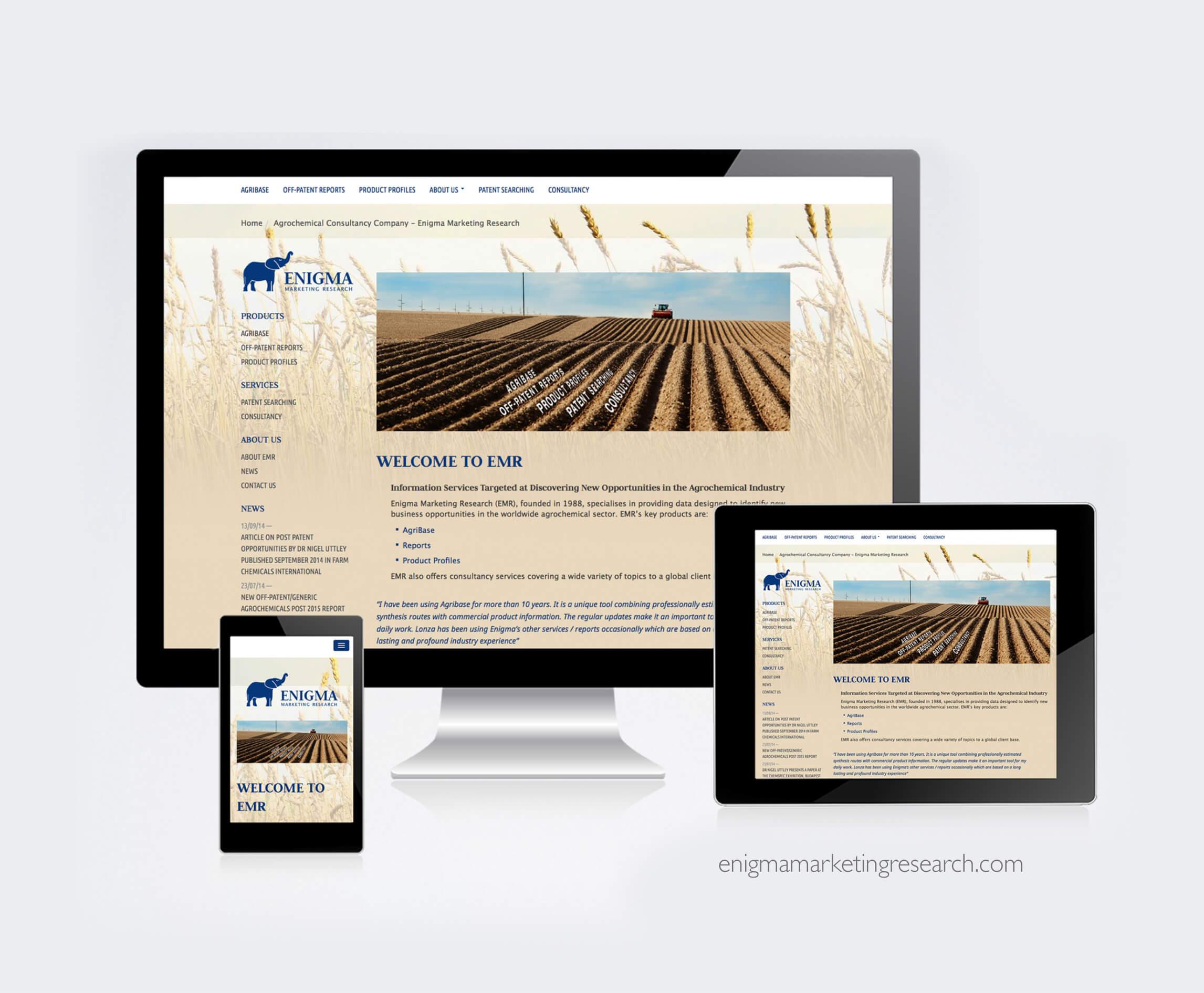 Enigma website